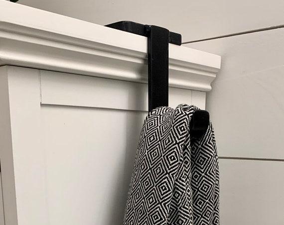Vanity Towel Holder, Hand Towel, Hand Towel Holder, Hand Towel Hook,  Bathroom Towel Holder, Bathroom Hooks for Towels, Bathroom Hook Black