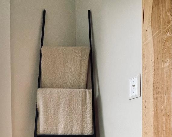 Iron Ladder, Metal Display Ladder, Ladder Decor, Ladder For Decor, Ladder for Laundry, Farmhouse Ladder, Farmhouse Ladder Decor, Rustic