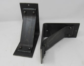 """4"""" wide with 3"""" angled support bar -Rivets added"""