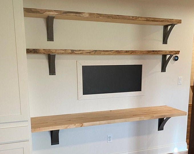 Featured listing image: Industrial Shelf Brackets, SOLD INDIVIDUALLY