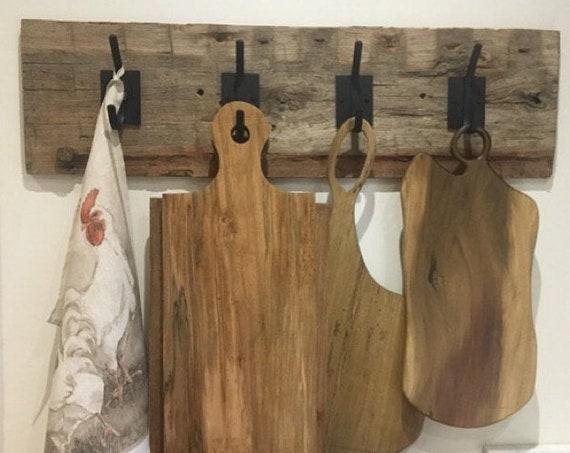 Metal Wall Hooks for Wall, Rustic Coat Hooks, Farmhouse Hooks in Entryway, Industrial Wall Hooks for Coats, Towel Hooks for Bathroom Wall