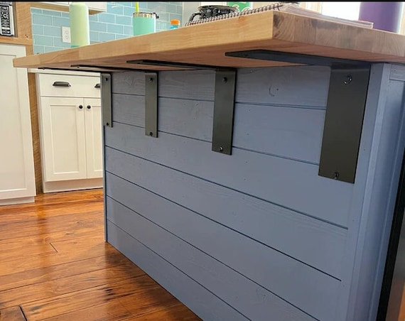 "Shelf Bracket, DIY Shelf, 4"" Wide -""L"" Style Shelving Bracket - SOLD INDIVIDUALLY"