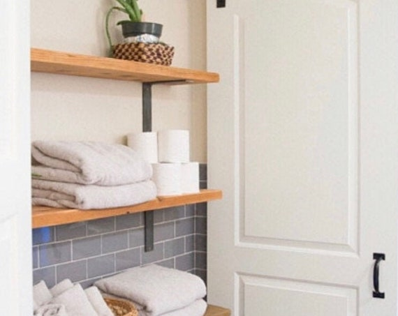 """The Liverpool 1"""" Wide -""""L"""" Style Shelving Bracket - SOLD INDIVIDUALLY"""