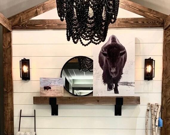 Cabin Decor Rustic, Mountain Home Gift, Cabin Mantel, Barn Style Decor, Fireplace Tool, Rustic Livingroom, Cabin Home Gift, Fireplace Accent