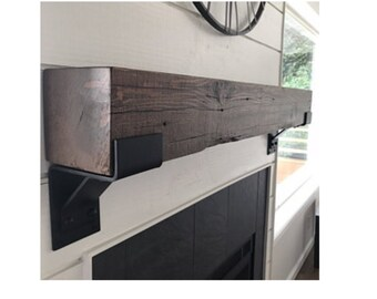 Heavy Duty Support with Lip, SOLD INDIVIDUALLY, 5 Inch Wide Shelf Bracket Steel, Commercial and Residential Use, Industrial Decor, Support