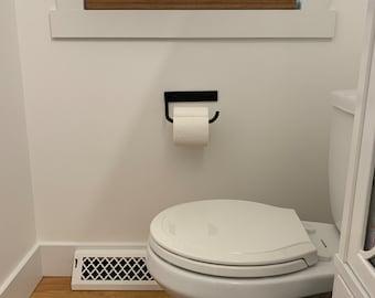 Steel Toilet Paper holder, Bathroom Fixture, Bath hardware, Wall Mounted Toilet Paper Holder, Under Cabinet Mounted Toilet Paper Holder