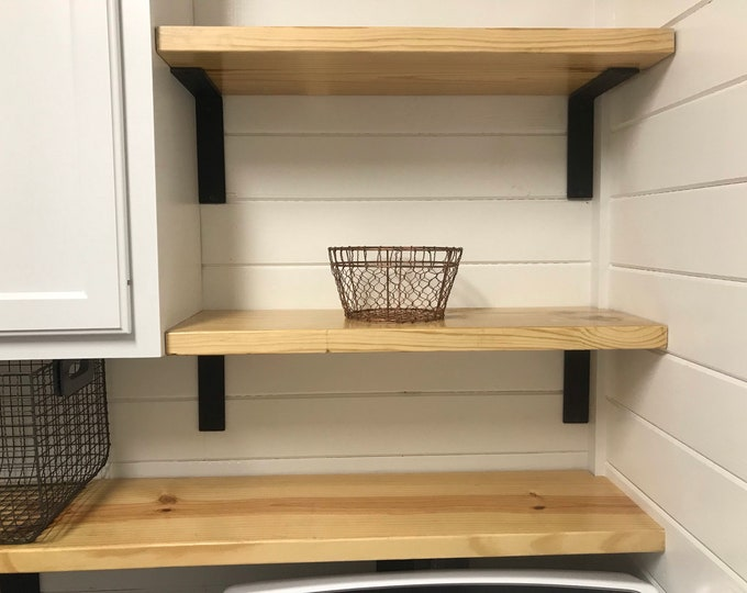 """2"""" Wide -""""L"""" Style Shelving Bracket - SOLD INDIVIDUALLY"""