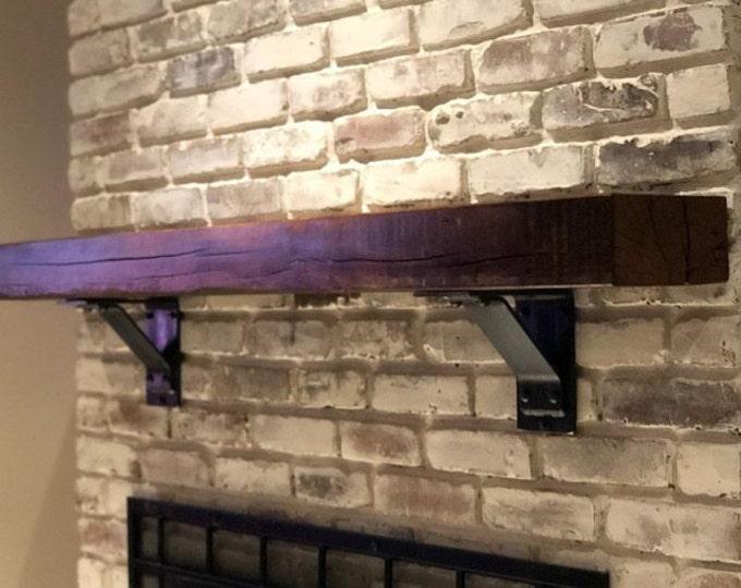 Steel Support Bracket, Heavy Duty Shelf Bracket, Heavy Duty Steel Bracket for Shelves, L Bracket for Shelf, Metal Bracket Fireplace Mantle