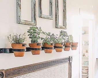 Horizontal Wall Mounted Planter