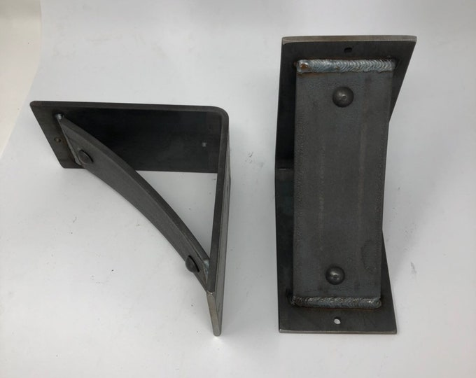 """3"""" wide with 3"""" wide curved support bar with rivets welded in - SOLD INDIVIDUALLY"""