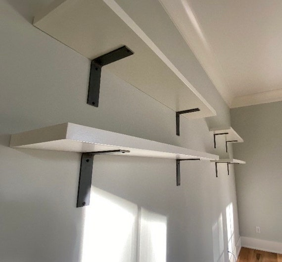 """The Lucas 2"""" Wide -""""L"""" Style Shelving Bracket - SOLD INDIVIDUALLY"""