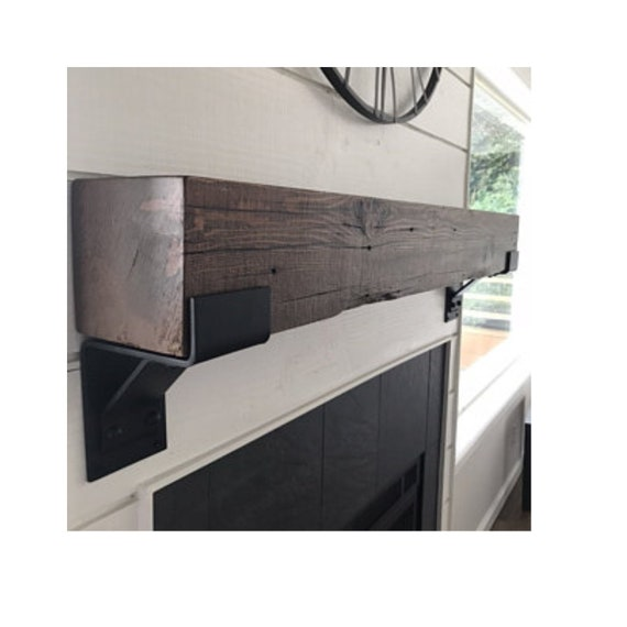 5 Inch Shelf Bracket Steel, Brackets for shelves, shelf bracket iron, Metal Lip bracket, Heavy Duty Support with Lip, SOLD INDIVIDUALLY,
