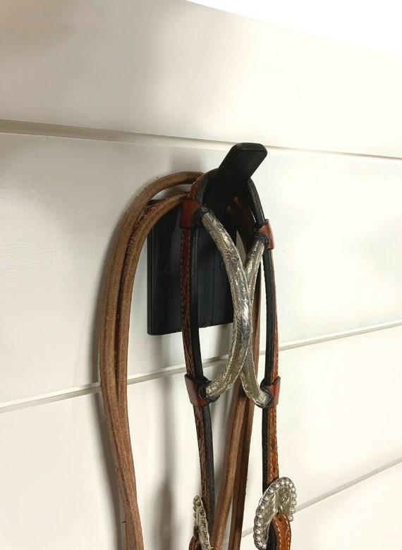 Farmhouse decor, Bridle Halter Hook, Tack Room Organization, Horse Stable Hook, Horse Tack Hooks, Horse Tack Organization, Stable Wall Hook