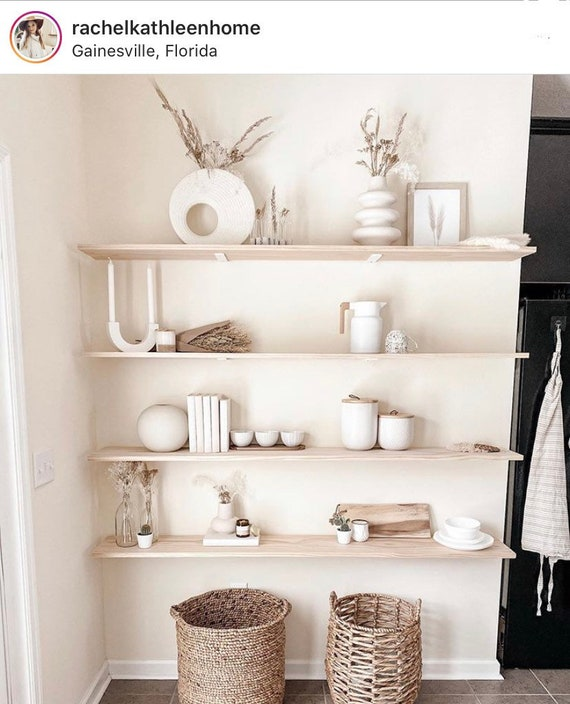 """The Lafayette 1.5"""" Wide -""""L"""" Style Shelving Bracket - SOLD INDIVIDUALLY"""