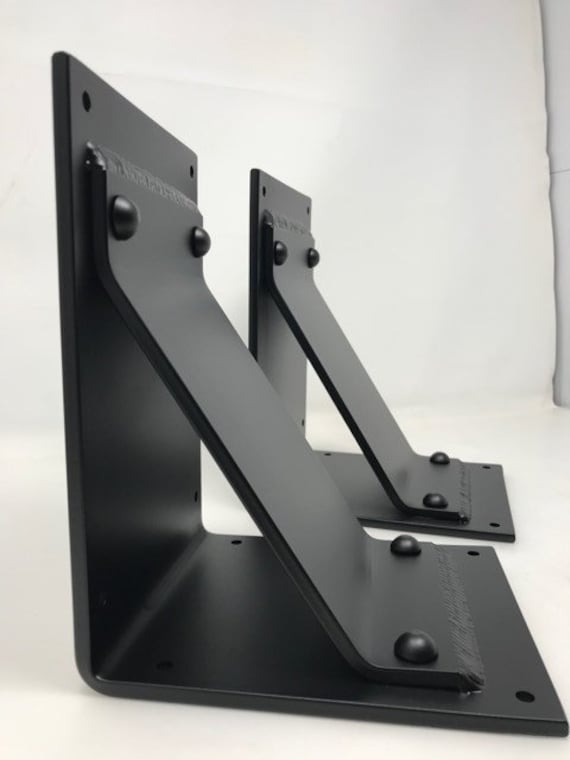 """5"""" wide with 4"""" wide angled support bar -Rivets added"""