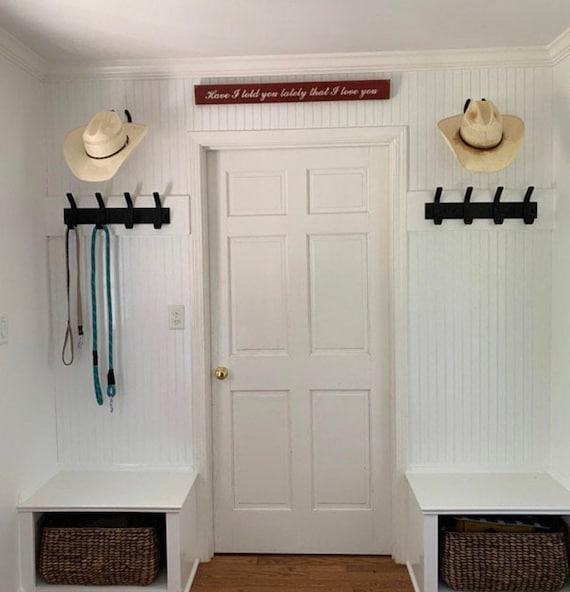 Horse tack hook, hook rack, hook hangers, bridle bracket, horse rack hooks, black tack hooks, tack rack black, bridle rack, bridle hook