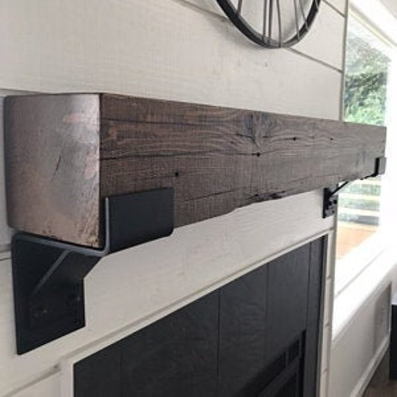 Outdoor Fireplace Mantel Brackets, Man Cave Decor, Outdoor Living Space, Garage Storage, Pool House Decor, She Shed Decor, Garage Living
