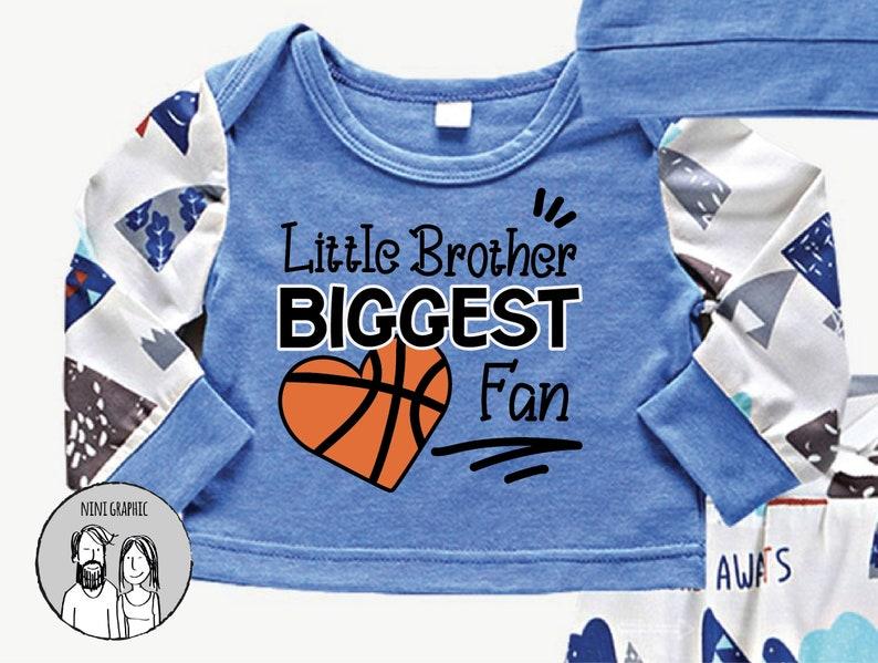 Dxf EPS Png Jpg svg cut file cricut Boy basketball SVG Little Brother Biggest Fan svg Basketball SVG silhouette cameo Basketball Mom