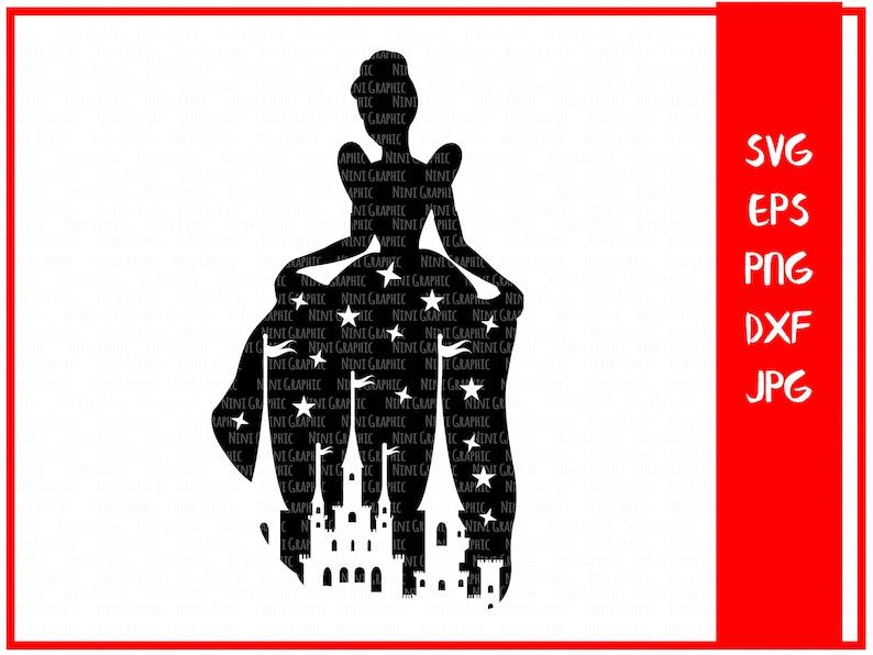 SVG Design for Silhouette Cinderella Svg princess castle Svg Cinderella castle Svg Svg Cutting Files-Svg Files for Cricut Princess SVG