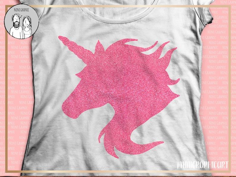 Unicorn head silhouette, files for Silhouette, cutting files for Cricut,  unicorn SVG, unicorn png, Unicorn clipart, Unicorn png