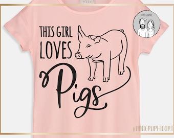 Farm animal svg, Farm life svg, Pig Clipart, Farm quote dxf Silhouette, Cameo, Cricut, pig png, animals Farm svg, Farm Animals svg, pig svg