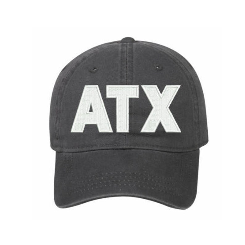 a710bb0a66a759 ATX Austin Hat Embroidered Baseball Cap ATX City Code Hat | Etsy