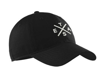 Black Floral Embroidered Hat - OS / BLACK I Saw It First XsQQh5PpN