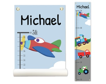 Airplane Growth Chart Etsy