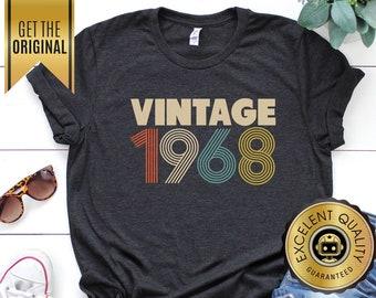 14fd5509 51st Birthday Gift for Women, Vintage 1968 Shirt, 51st Birthday Gift, 51  Birthday Shirt, 51st Birthday Party, 1968 Unisex Shirt