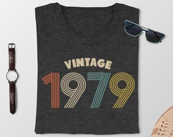 40th Birthday Gifts For Men Vintage 1979 T Shirt Gift Party TShirt