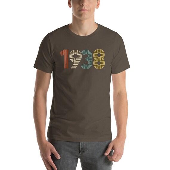 80th Birthday 1938 T Shirt Gift 80