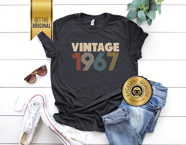 75592af88 51st Birthday Gifts for Women Vintage 1967 T-Shirt 51st   Etsy