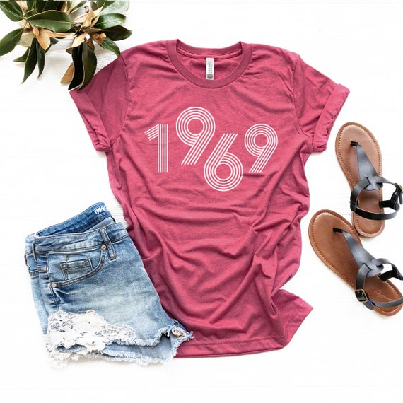 426c8697 49th Birthday Gifts for Women, Vintage 1969 T-Shirt, 49th Birthday, 49th  Birthday Gift, 49th Birthday Shirt, 49th Birthday Party, 1969 Tee