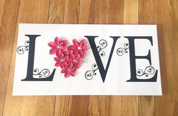 Love Letter Board Love Love Sign Valentine S Day Etsy