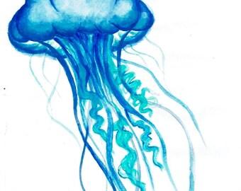 Jellyfish Original Art Print