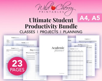 sweet planner printables for your busy by wildcherryprintables