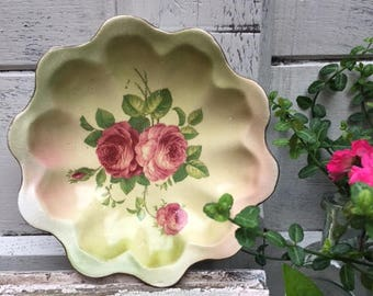Crescent (George Jones & Sons, England) Ceramic Dish