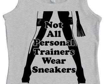 BDSM Personal Trainer, Women's Tank Top. BDSM gift. Screen Printed, not vinyl!