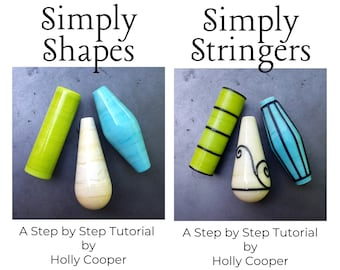 Simply Shapes and Simply Stringers Instructional eBooks