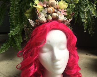 PREMADE Mermaid Fairy Crown!