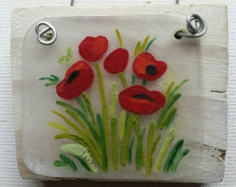 Itty Bitty Art: Poppies
