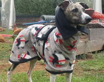 Greyhound and Whippet Warm Fleece Coats