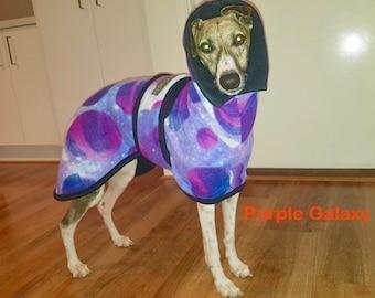 Whippet& Iggy Warm Fleece Coats