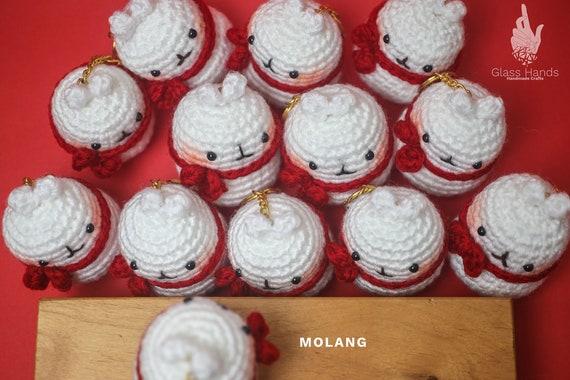 Ravelry: Adorable Molang & Piu Piu Plush pattern by Miki H Kim | 380x570