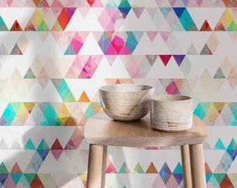 Watercolor Wallpaper, Removable Wallpaper, Watercolor print, Watercolor mural, Large wall paper, Removable wallpaper, Watercolor print -A154