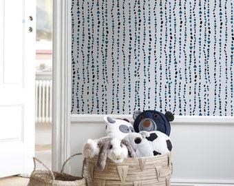 Watercolor wallpaper, Splash wall art, Watercolor print, Watercolor mural, Large wall paper, Removable wallpaper, Watercolor print - A150