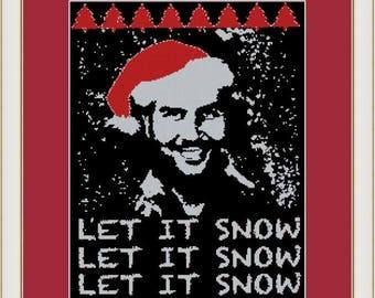 Snow by Pablo, PDF cross stitch pattern