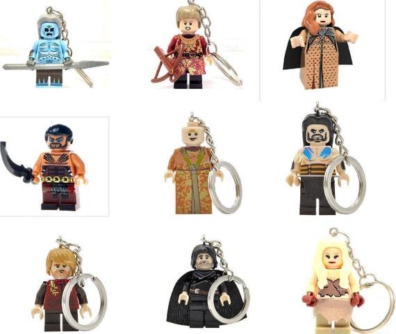 LEGO Figurine Cheveux-Gladiator