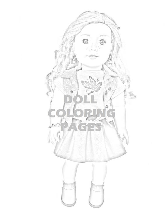 american girl doll tenney coloring pages | Draw Samples: May 2019