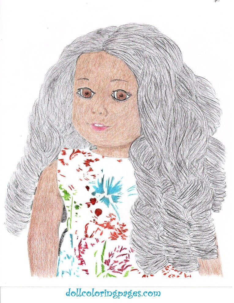 caroline coloring pages - photo#21